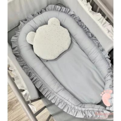 Pastell babafészek - Szürke